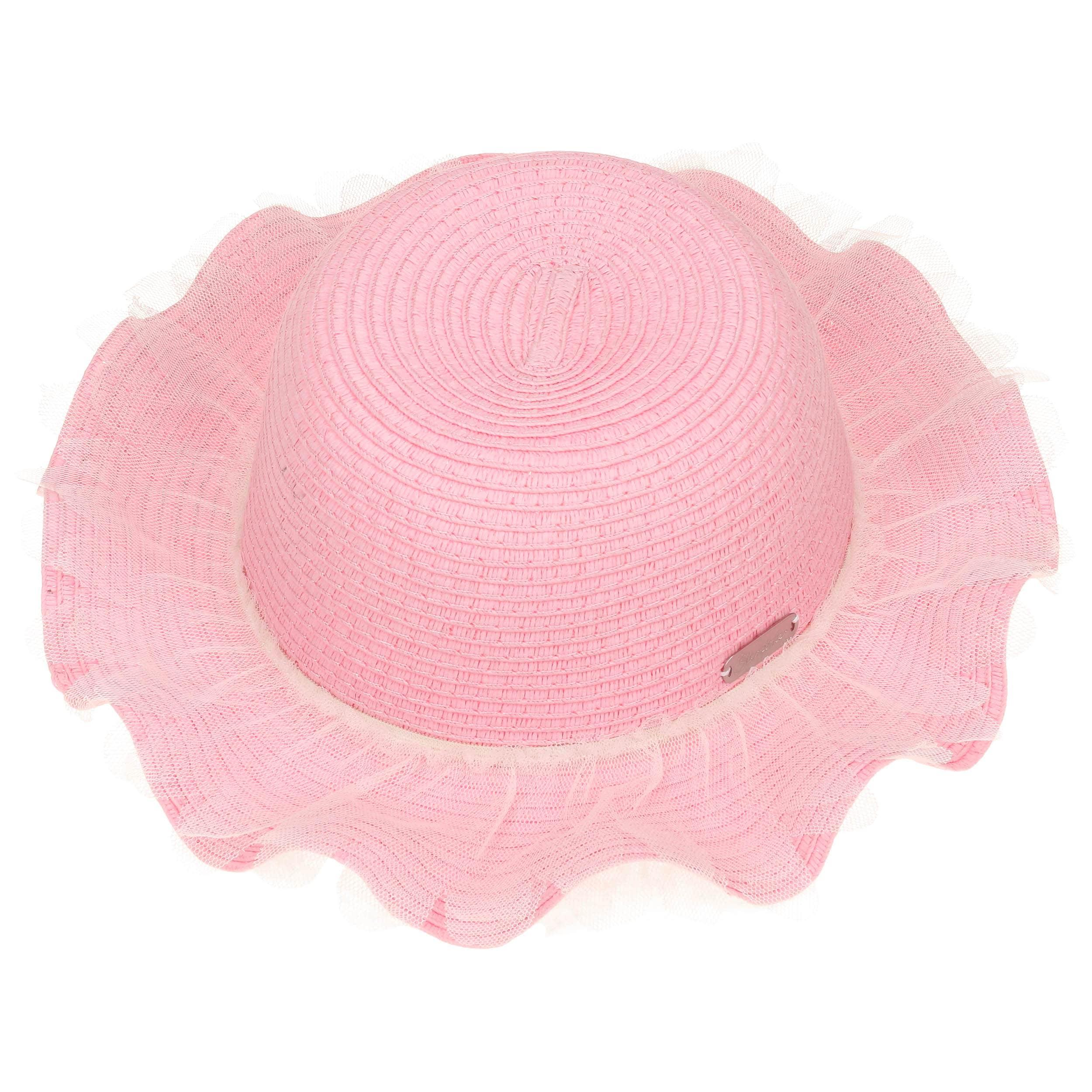 Cappello di Paglia Katarina by Sterntaler - rosa 1 ... 8abca2f64dd4