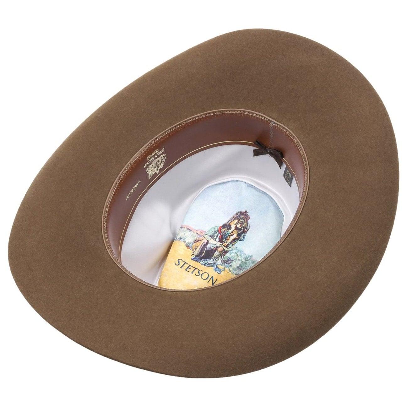 ... Carson Outdoor Cappello Cowboy by Stetson - marrone 3 ... 780555cfc41e