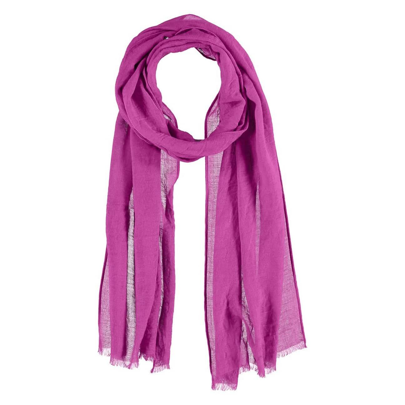 ... Chiffon Sciarpa con Viscosa by Passigatti - pink 1 ...