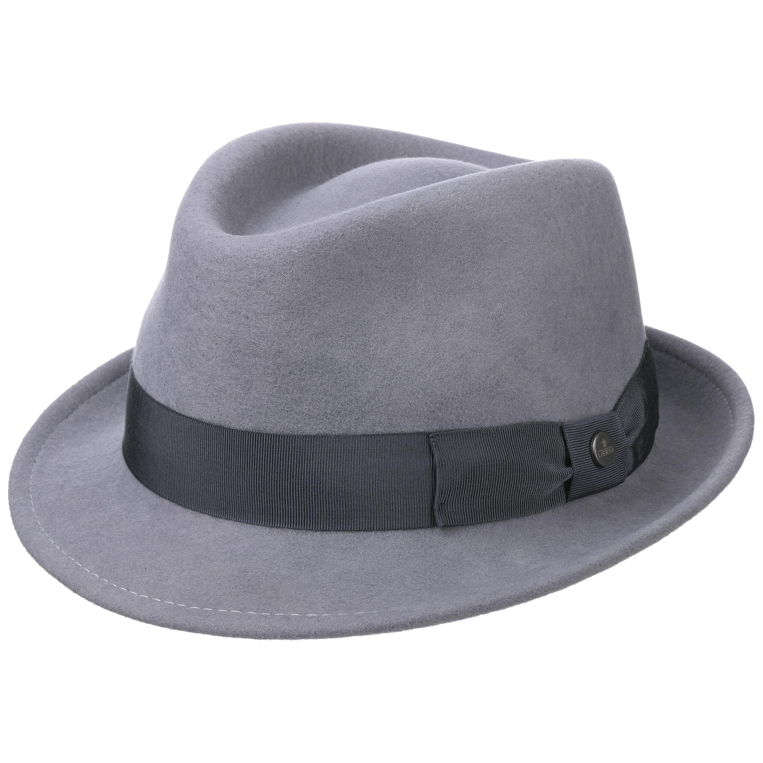 ... Lierys 1 · Classic Wool Trilby Cappello by Lierys - grigio 4 ... c94f4fca15f2