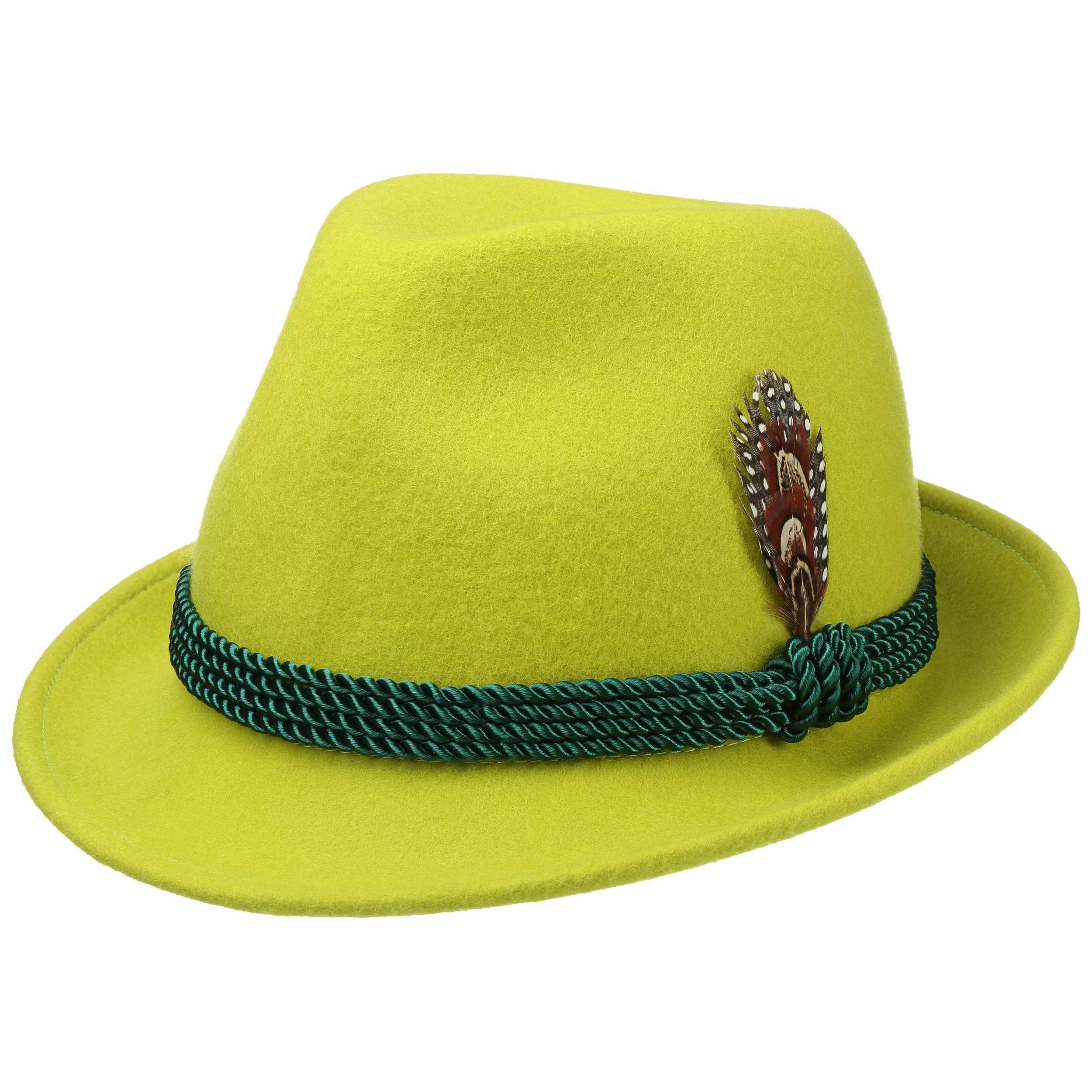 design unico nuovo arriva lusso Classico Cappello Tirolese di Feltro