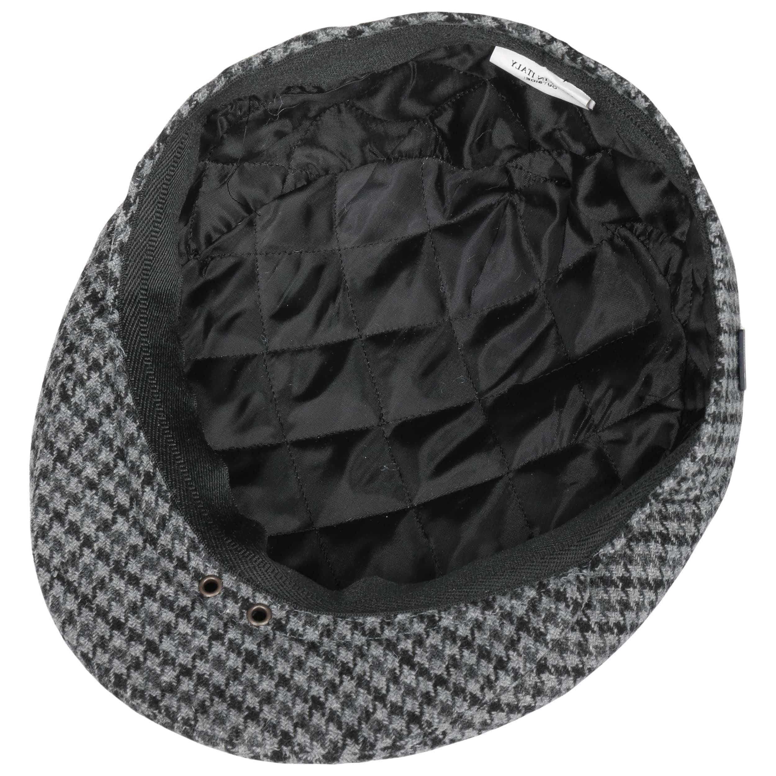 ... Coppola Inglese Classic Herringbone by Lipodo - grigio-nero 2 ... 36533cdf993e