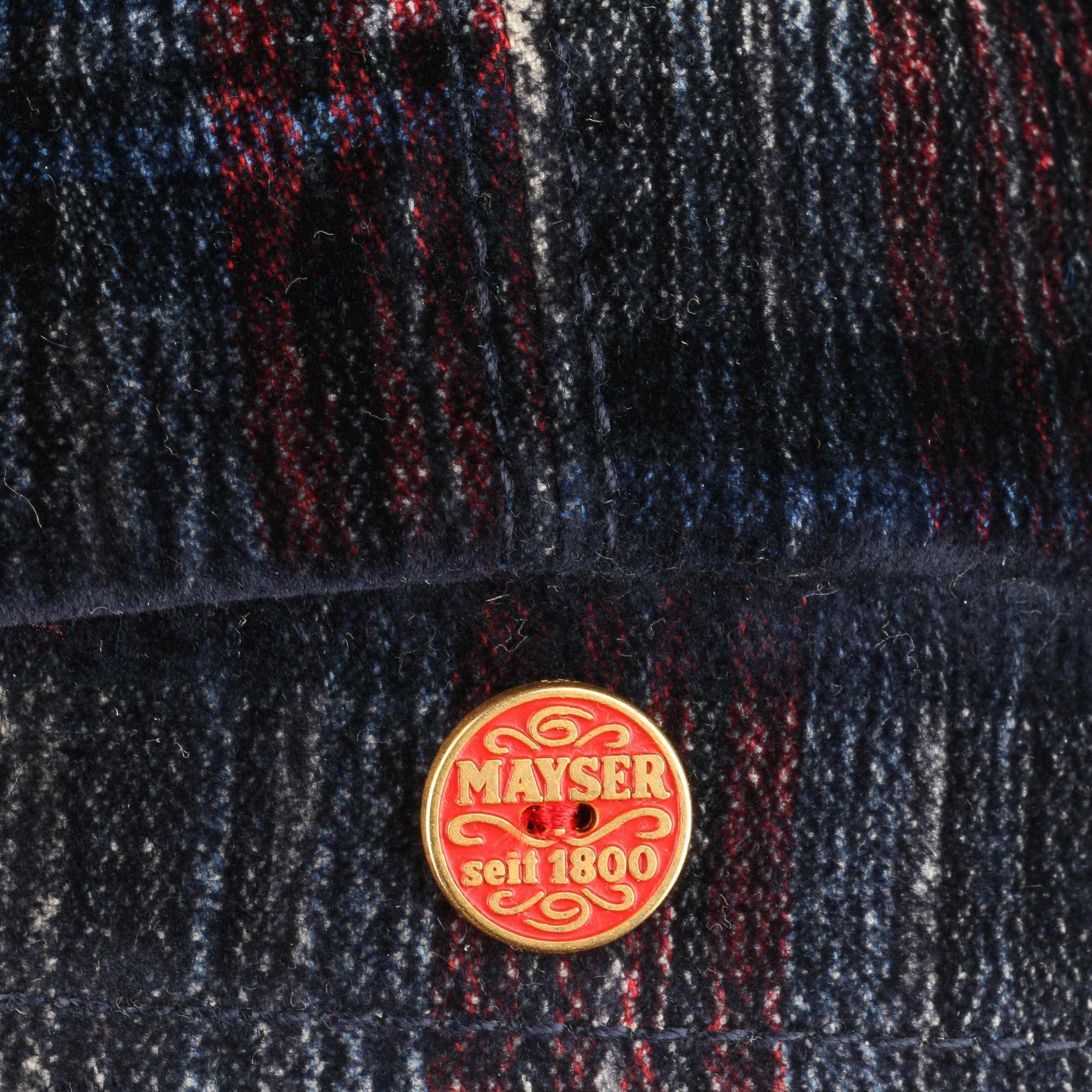 ... Coppola Seven Velvet Check by Mayser - blu-rosso 3 ... 87423ce3fc5c