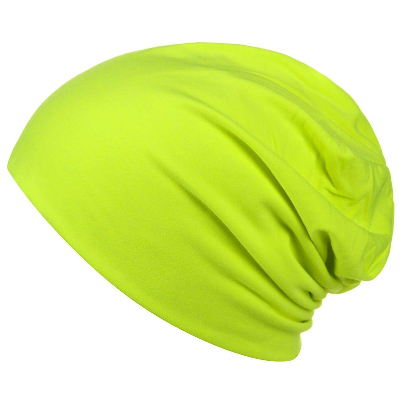 ... Denver Berretto Jersey Oversize - giallo neon 1 ... 98b92375dccd