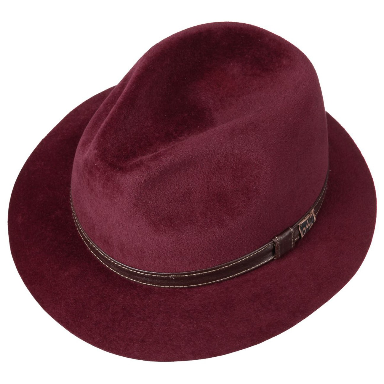 ... Ennio Velours Cappello by Mayser - rosso bordeaux 2 ... d01cdb1f0008
