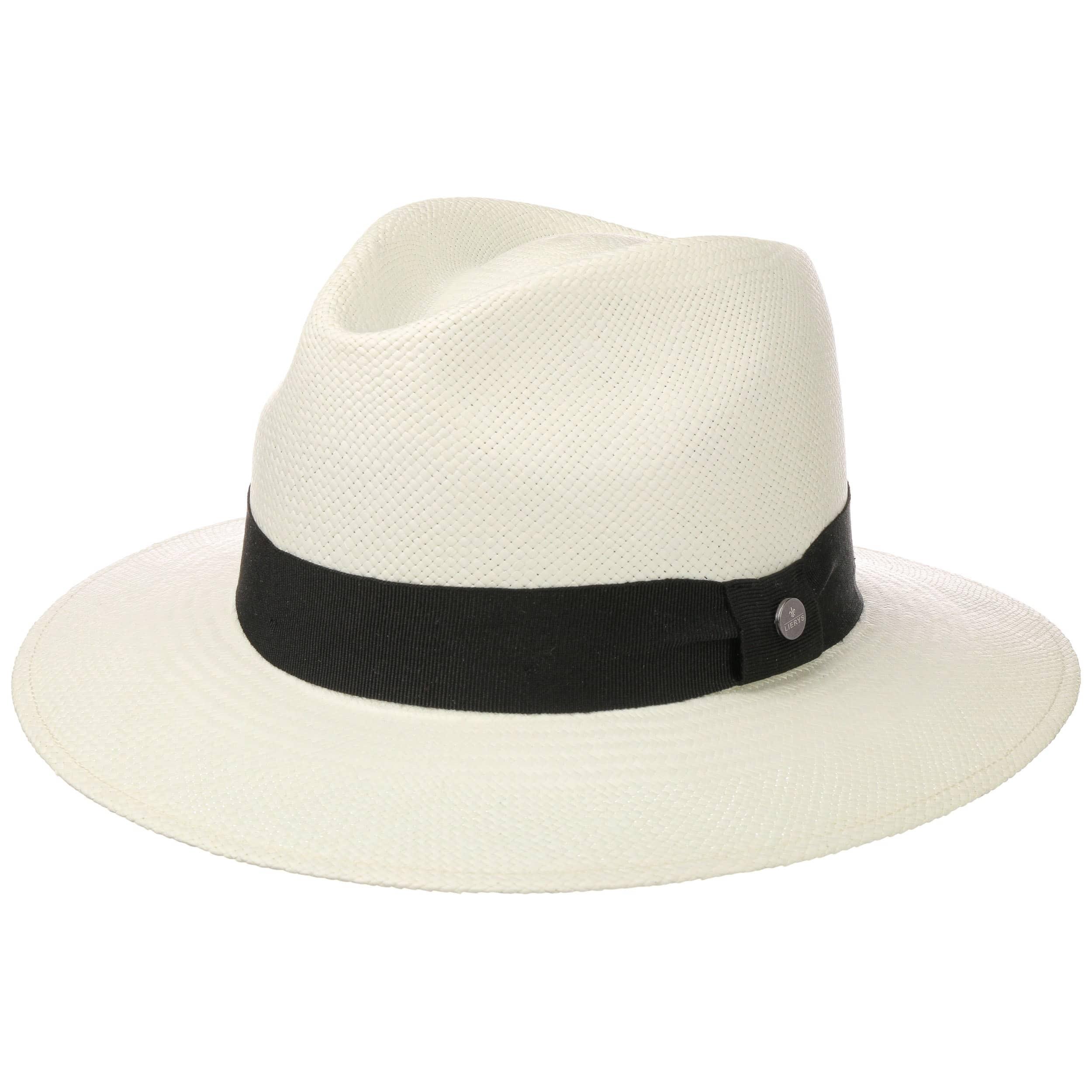 b93fb4ebfe ... Georgo Cappello Panama by Lierys - bianco-nero 1 ...