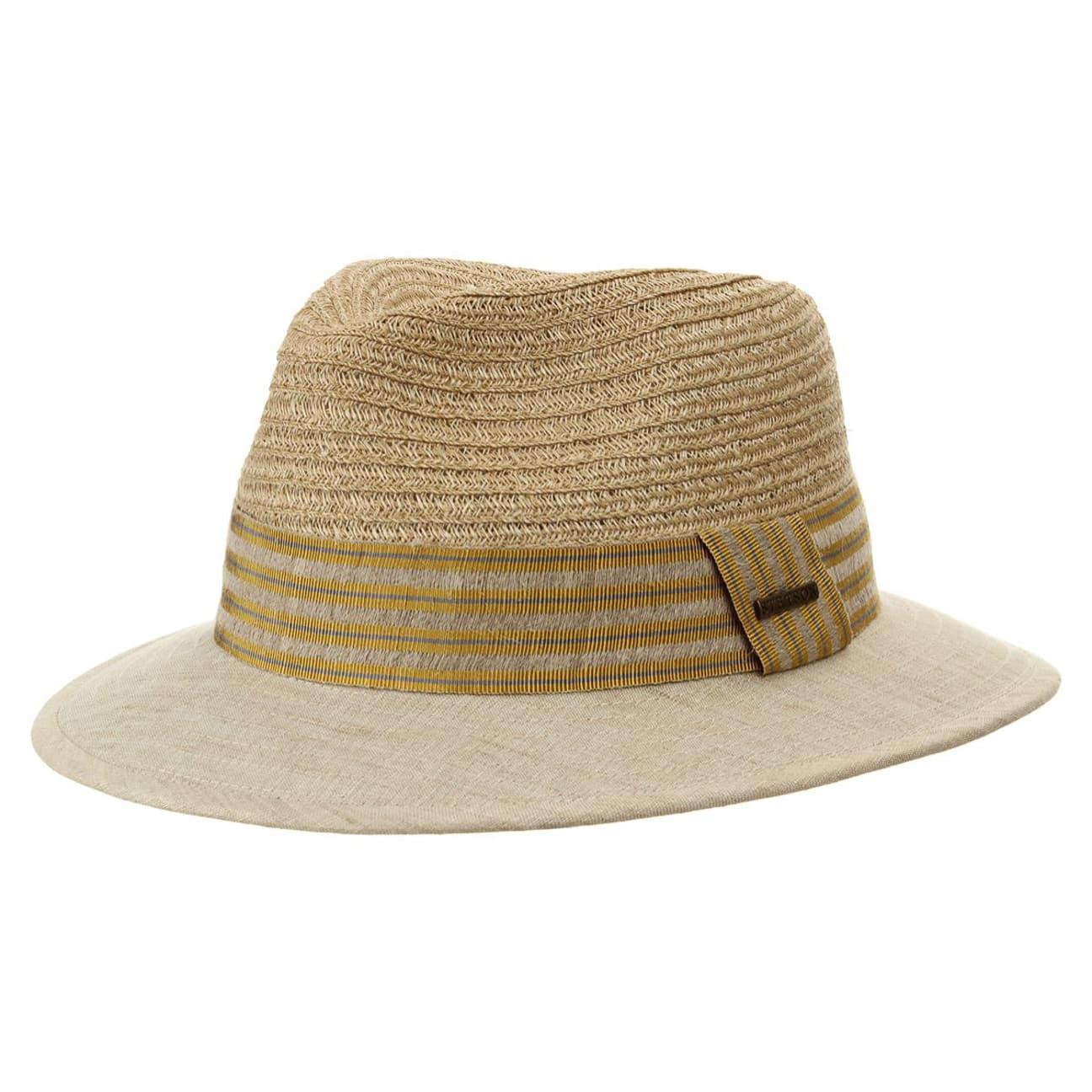 Gray linen hemp cappello bogart by stetson 69 00 for Clienti sinonimo