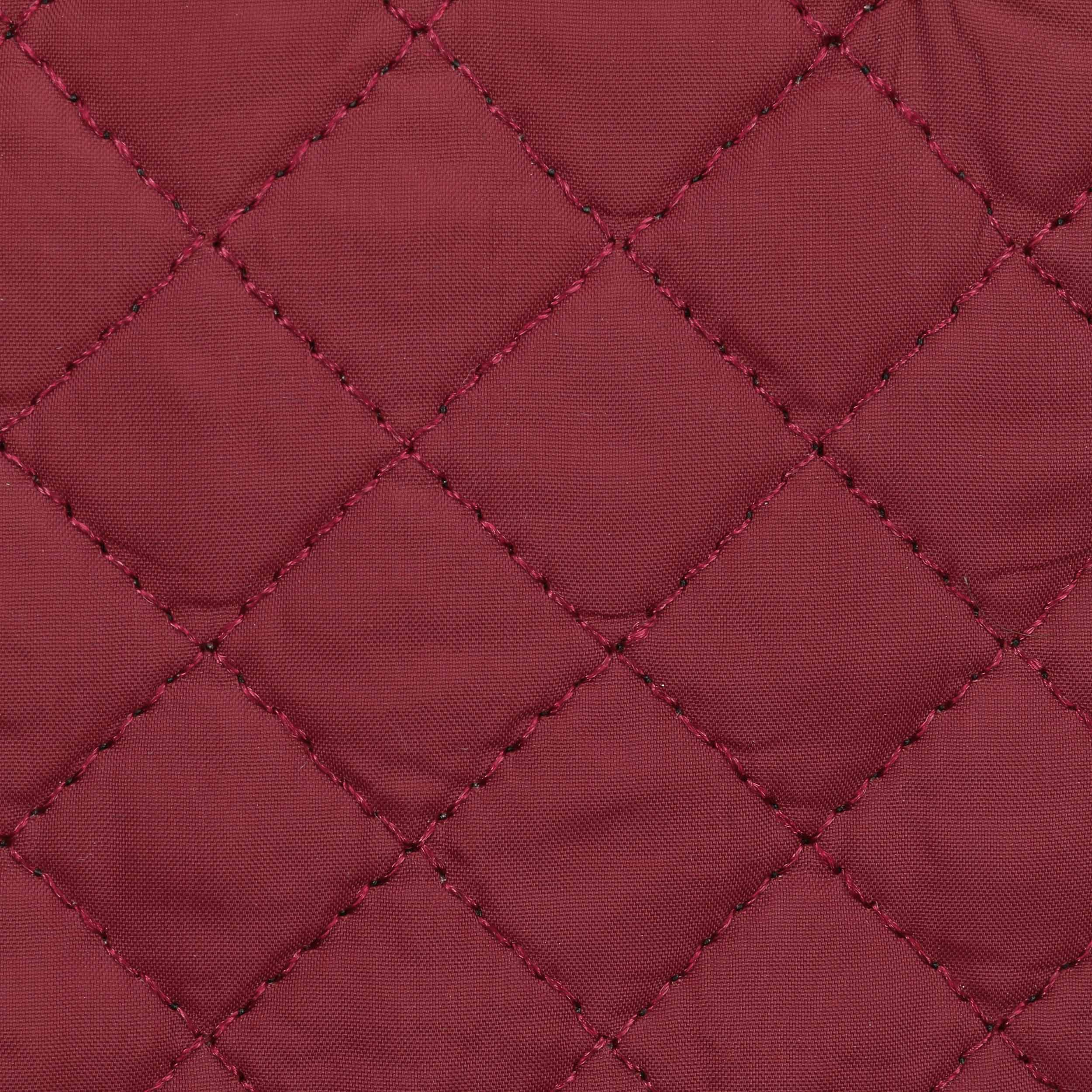 ... Guanti da Donna Quilted by McBURN - rosso bordeaux 3 ... e5ce6d42a0dc