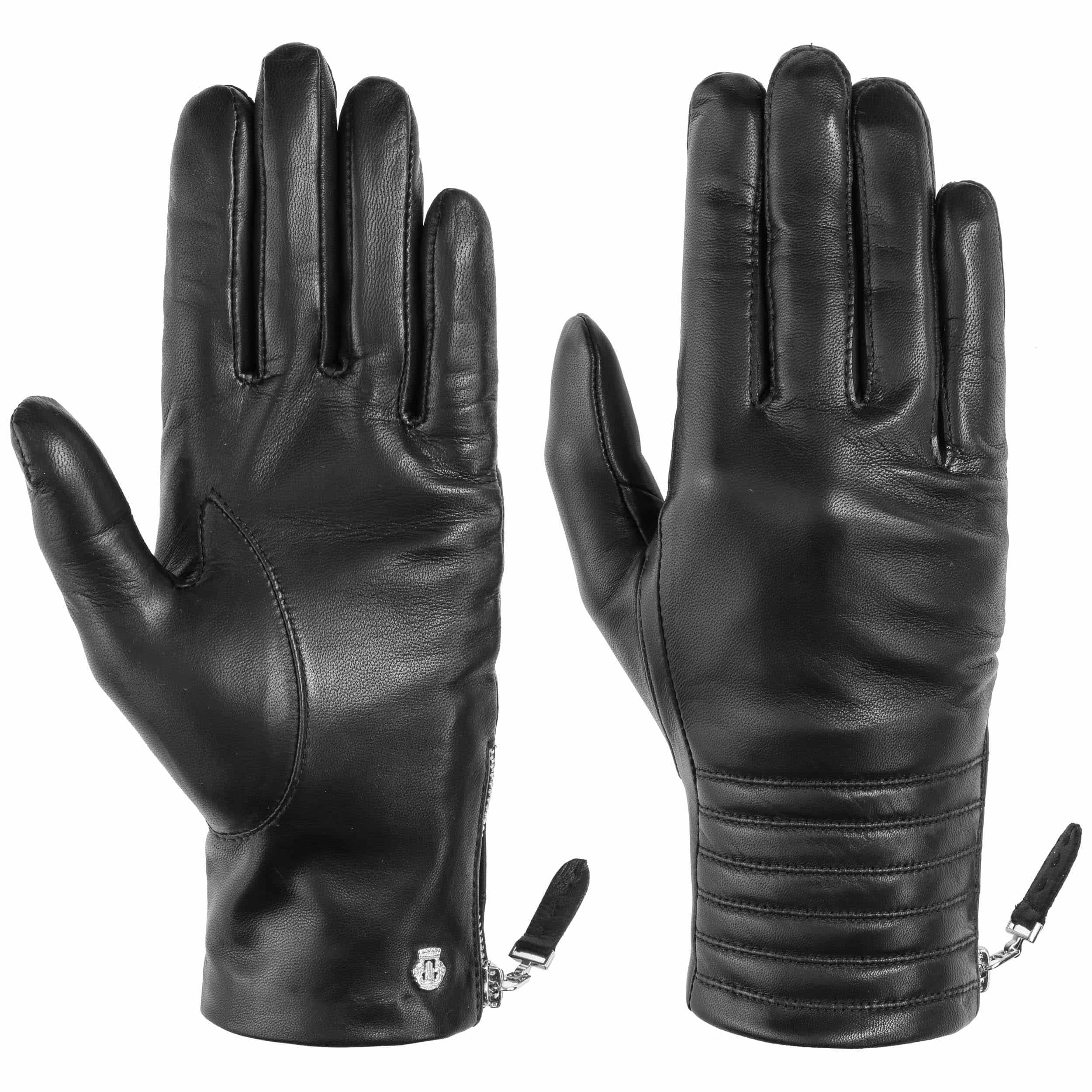 Prezzo del 50% scarpe da corsa migliore qualità Guanti in Pelle Wrist Zip by Roeckl