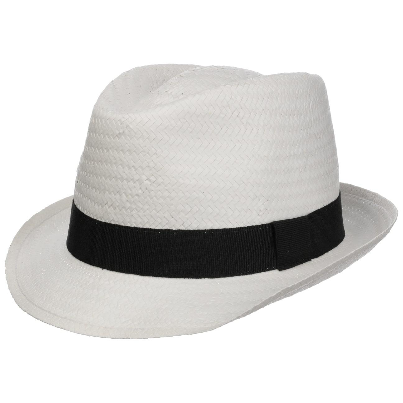 ... Málaga Cappello Trilby in Paglia - bianco 1 ... 29594c91c930