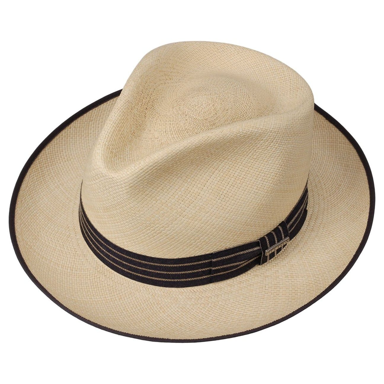 Manchester Cappello Panama by Stetson - natura 2 ... be6133d4aa98