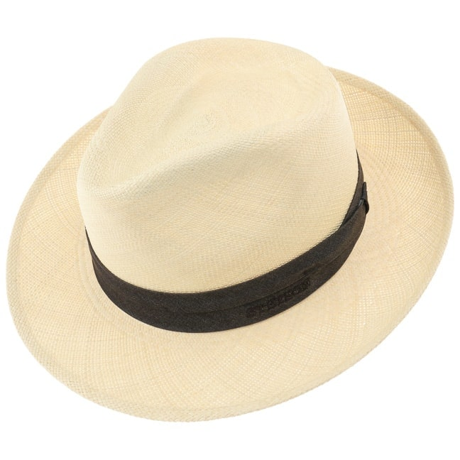 Panama Braid 2-3 Fedora Hat by Stetson 360° View 6779defe55f