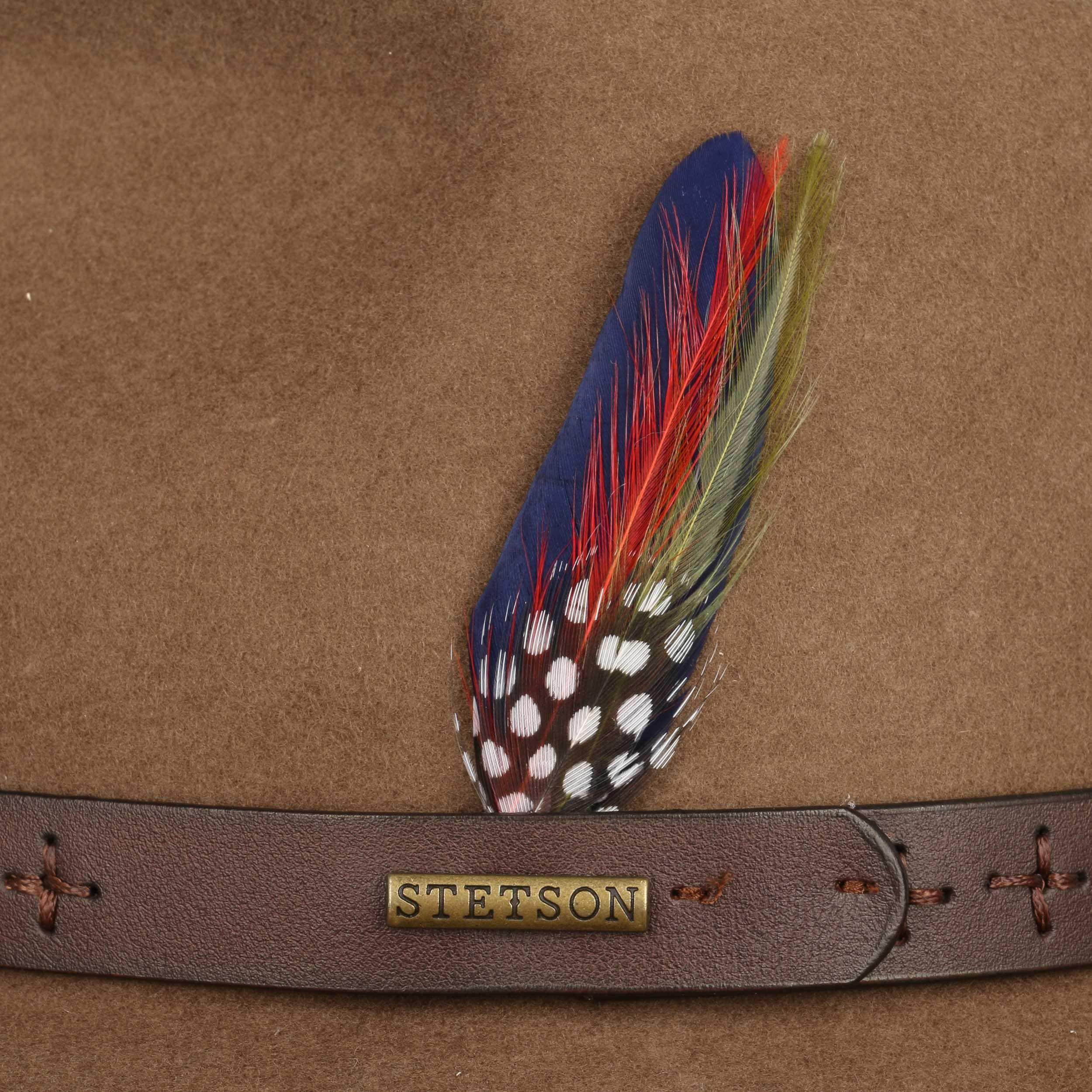 ... Powland Cowboy Cappello by Stetson - marrone 3 ... 91421de75bc4