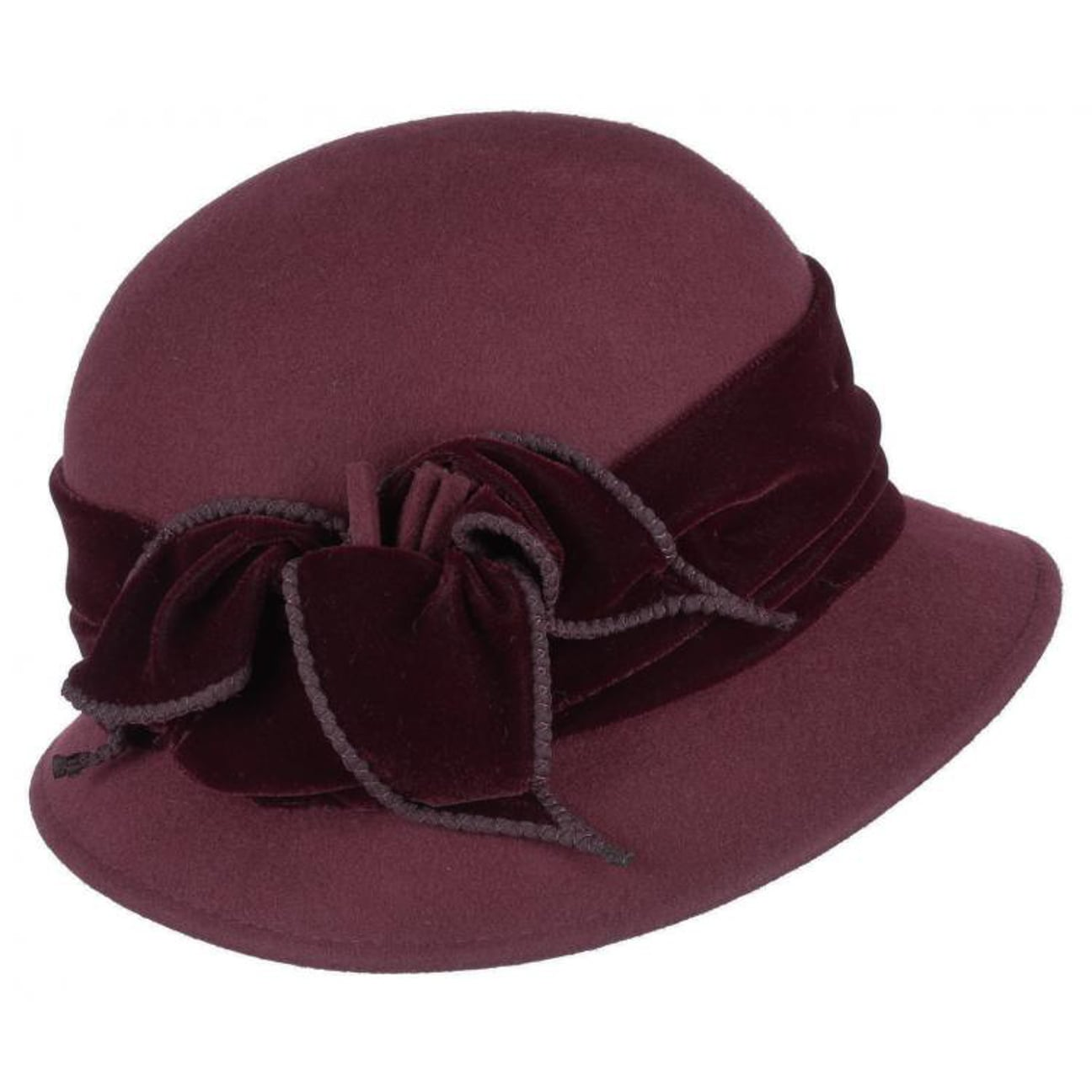 ... Sumare Cappello da Donna - rosso bordeaux 1 ... 2180379c19ac