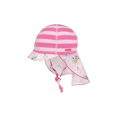 Berretto Bambino Stripes and Flowers by maximo - 19,95 €